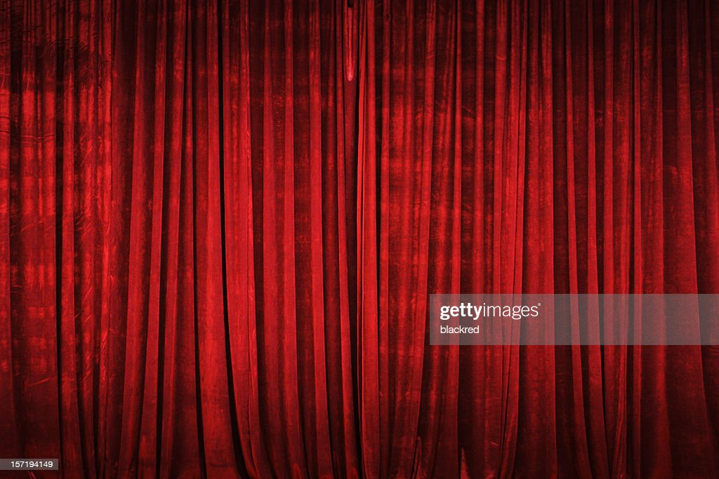 Stage Curtain : Stock Photo