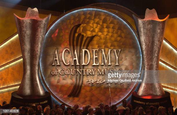 Stage decor during 38th Annual Academy of Country Music Awards - Show at Mandalay Bay Event Center in Las Vegas, Nevada, United States.