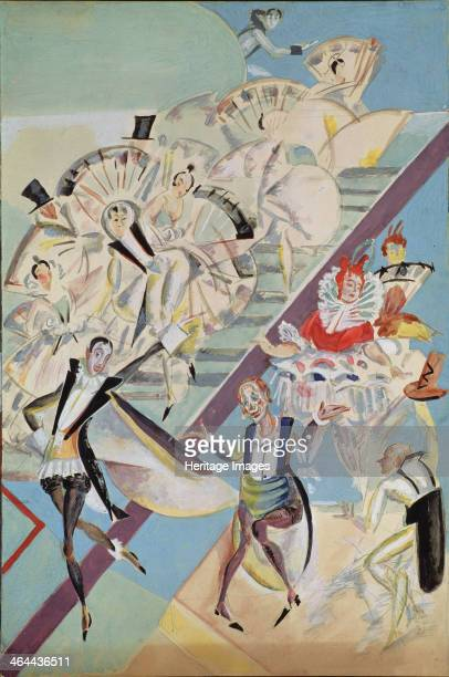 Stage design for the operetta GirofleGiroflia by Ch Lecocq 1922 Found in the collection of the State Tretyakov Gallery Moscow