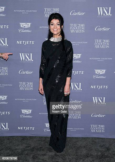 Stage designer Es Devlin attends the WSJ Magazine Innovator Awards at Museum of Modern Art on November 2 2016 in New York City