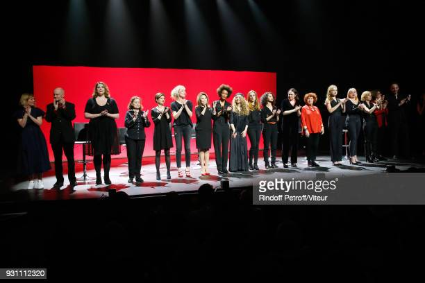 Stage Director Coralie Miller Mayor of 4th District of Paris Christophe Girard Charlotte Gaccio Catherine Arditi Sandrine Rousseau Juliette Arnaud...