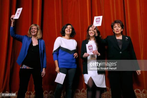 Stage Director Coralie Miller Myriam El Khomri State Secretary for Equality between Women and Men Marlene Schiappa and Roselyne Bachelot They will...