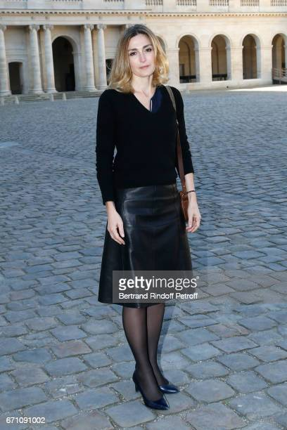 Stage Director of the Opera Julie Gayet attends the 'Opera En Plein Air 2017' Press Conference for the Opera 'Les Noces de Figaro' It will be...