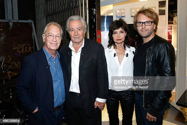 Stage Director of the Piece Bernard Murat Main guests of the show Actors of the Piece Pierre Arditi with his wife Evelyne Bouix and Autor of the...
