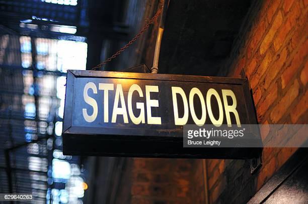 Stage Door Entrance