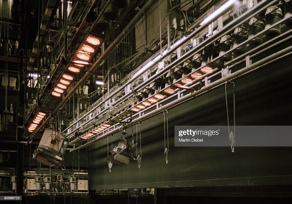 Stage lighting equipment : Stock Photo