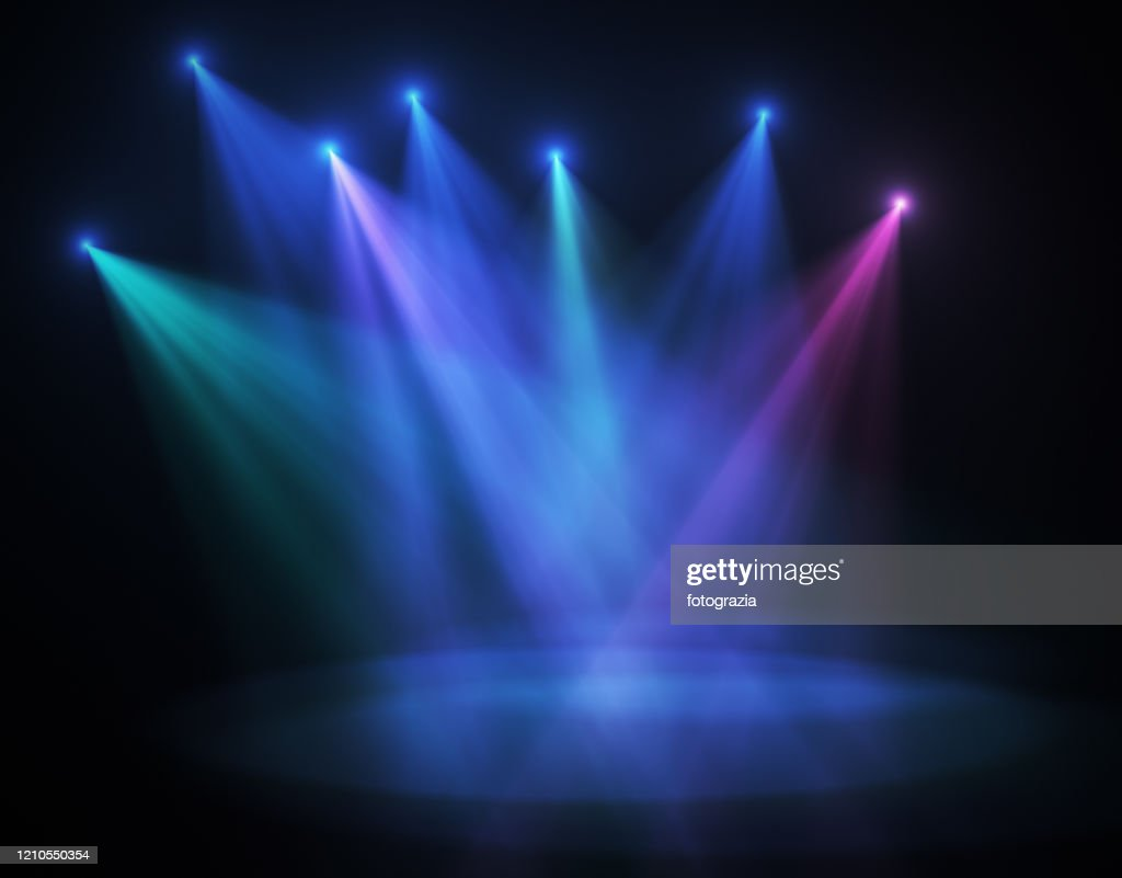 Stage Lights : Stock Photo