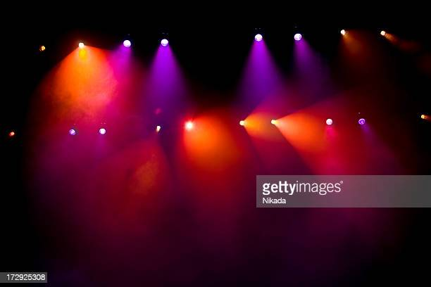 stage lights - circus stock photos and pictures
