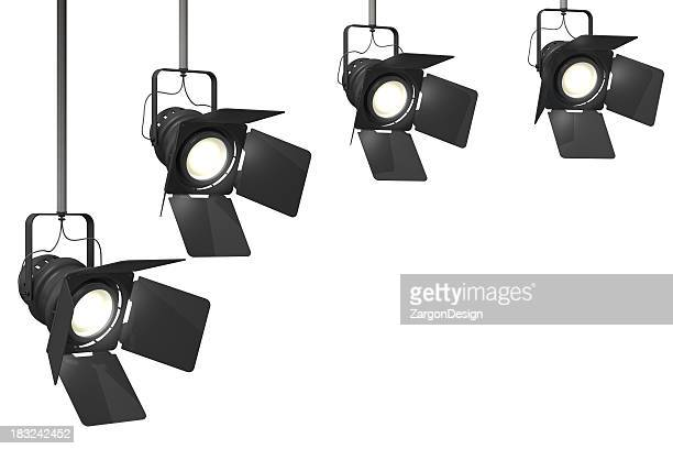 stage lights - spotlit stock pictures, royalty-free photos & images