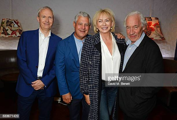 Stage One Council Chair Luke Johnson Sir Cameron Mackintosh Judy Craymer and Simon Callow attend a luncheon to celebrate the 40th anniversary of...