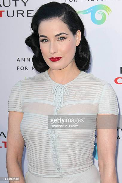 "Stage performer Dita Von Tesse attends the Opening Night of ""Beauty Culture"" at The Annenberg Space For Photography on May 19, 2011 in Century City,..."