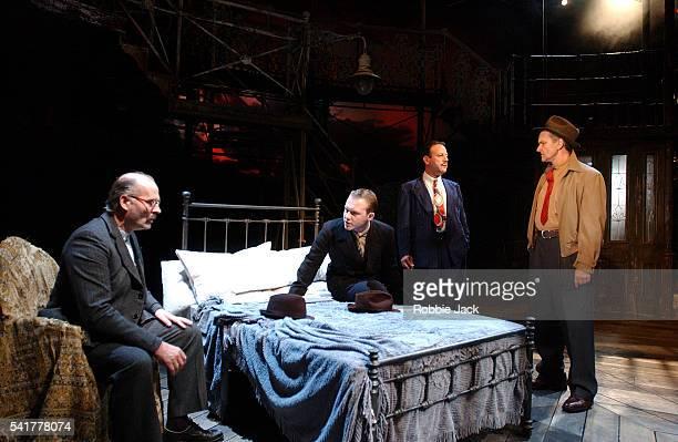 stage production of brighton rock in london - robbie jack stockfoto's en -beelden