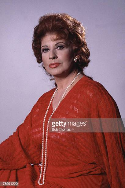 Stage Screen England Circa 1960's Actress Pat Phoenix who played the part of Elsie Tanner in the television series Coronation Street