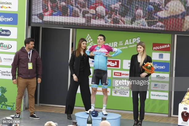 Stage winner Bilbao Lopez de Armentia Pello during 42nd Tour of the Alps Stage 1 ArcoFolgaria km 1346 on 16 April 2018
