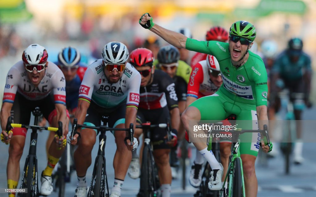 TOPSHOT-CYCLING-FRA-TDF2020-STAGE21 : News Photo
