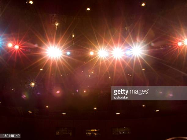 stagelights - awards ceremony stock pictures, royalty-free photos & images