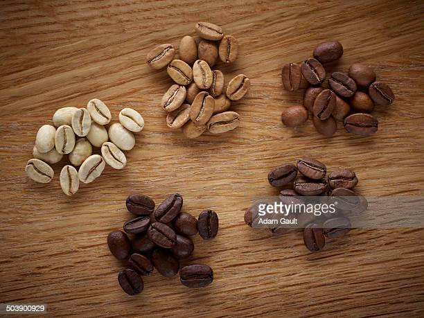 Stages of Roasting Coffee Beans