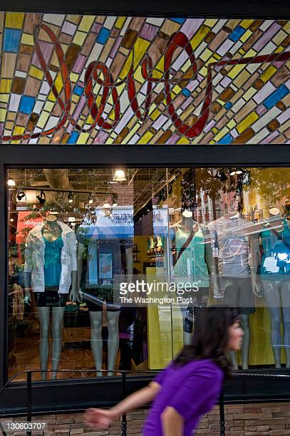 A stain glass window emblazoned with the word Love pays tribute to 30yearold Jayna T Murray of Arlington who was killed at Lululemon Athletica a yoga...