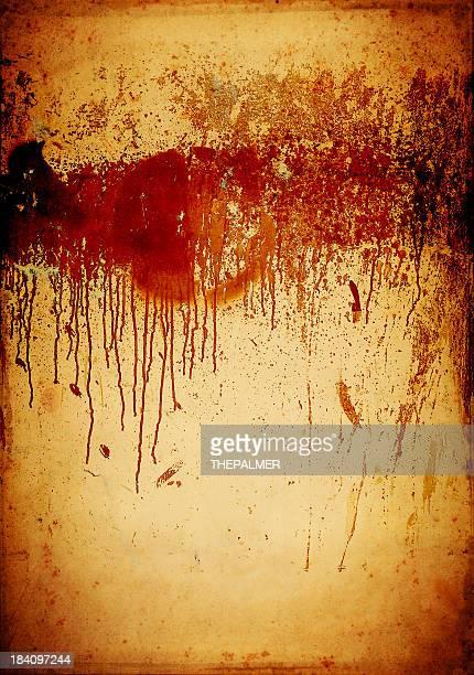 染色とグランジ(汚れ) - ルポルタージュ ストックフォトと画像