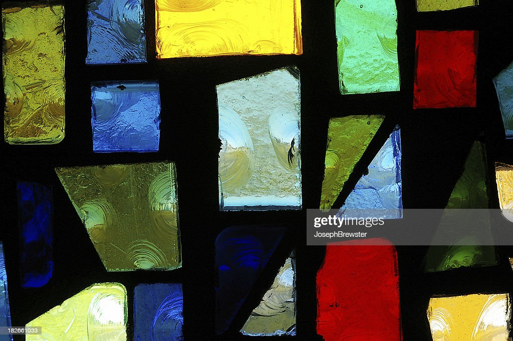 Stained glass : Stock Photo