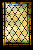 Stained Glass Window Architectual Detail