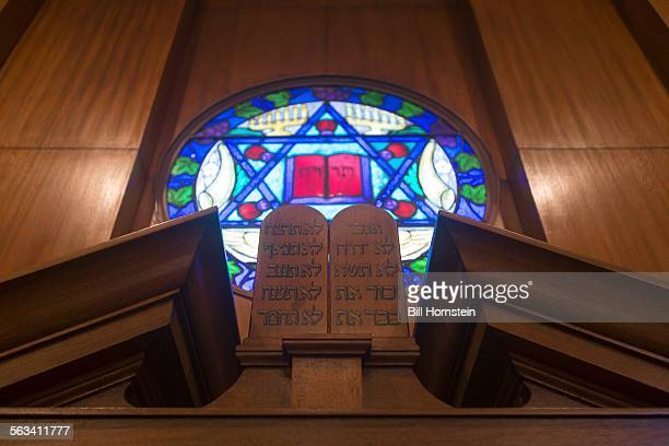 stained glass window - synagogue stock pictures, royalty-free photos & images