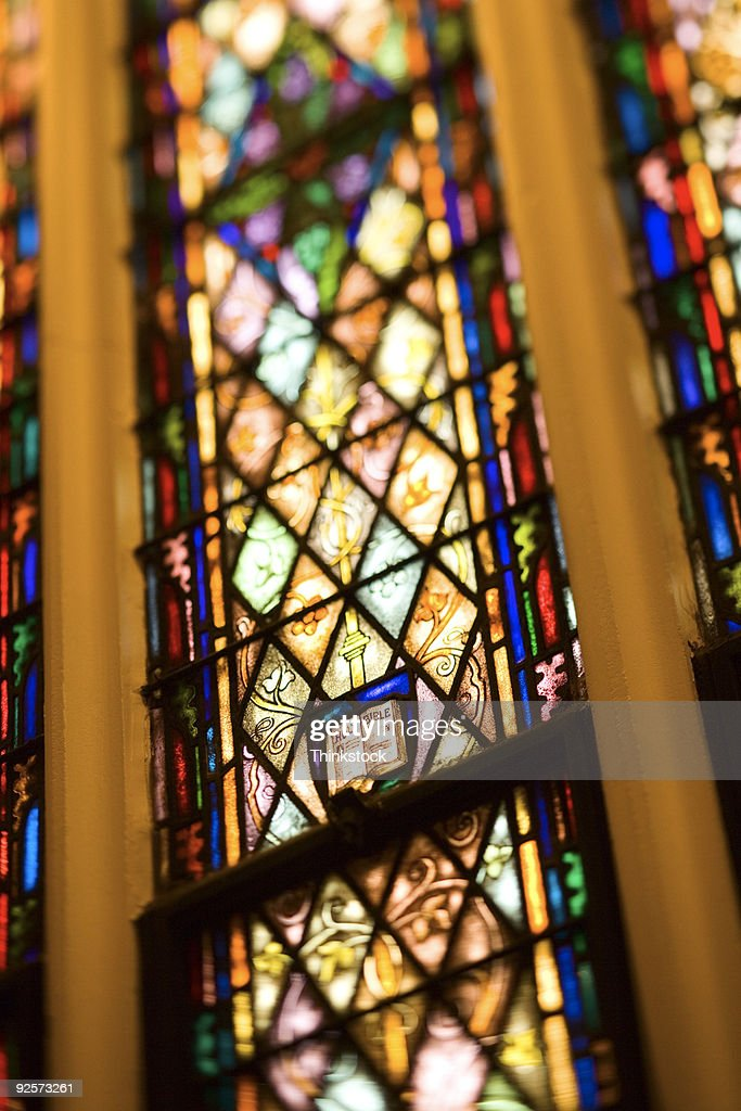 Stained glass window : ストックフォト