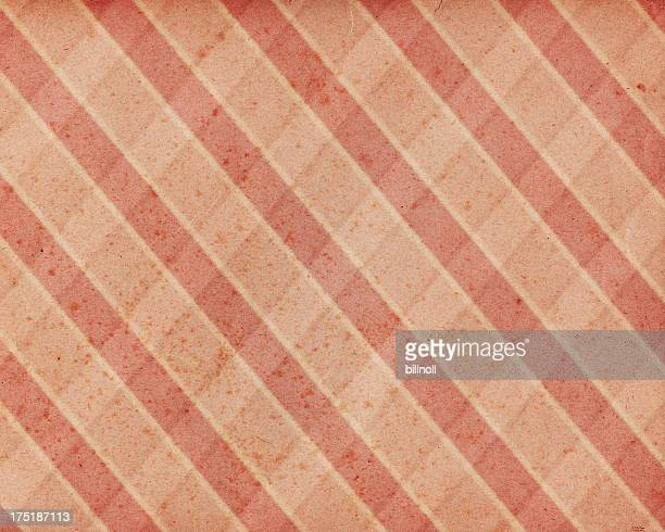 stained paper with plaid pattern