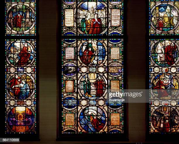 Stainedglass window at the Vatican Embassy Washington DC