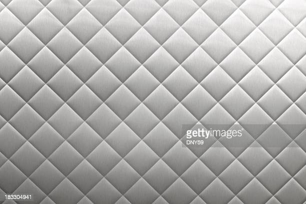 stainless steel diner diamond plate background - diner stock pictures, royalty-free photos & images