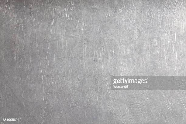 stainless steel surface, full frame - metallic stock photos and pictures