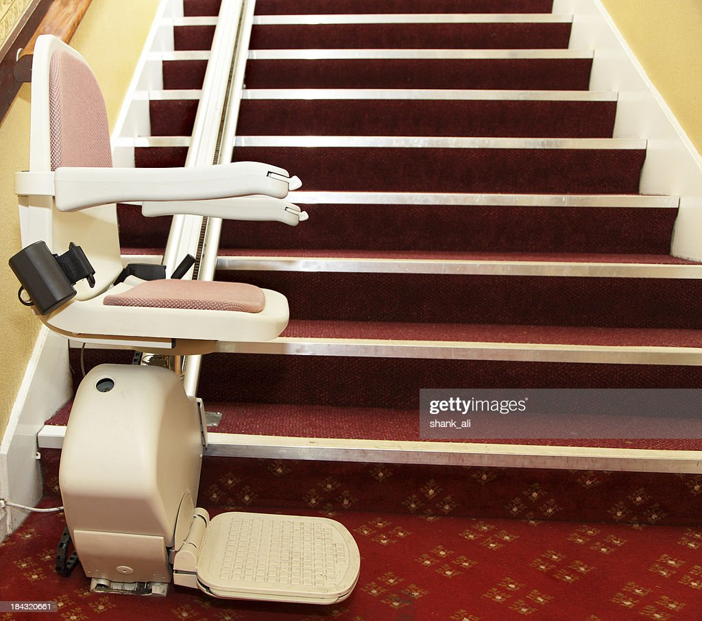 stair lift for the disabled : Stock Photo