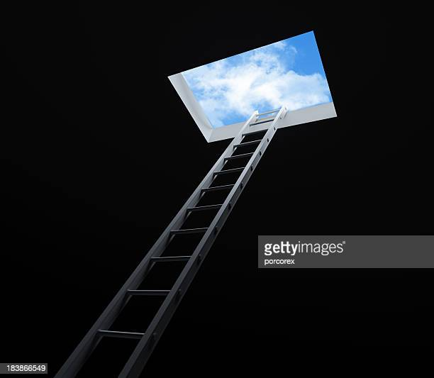 stair moving up - ceiling stock pictures, royalty-free photos & images