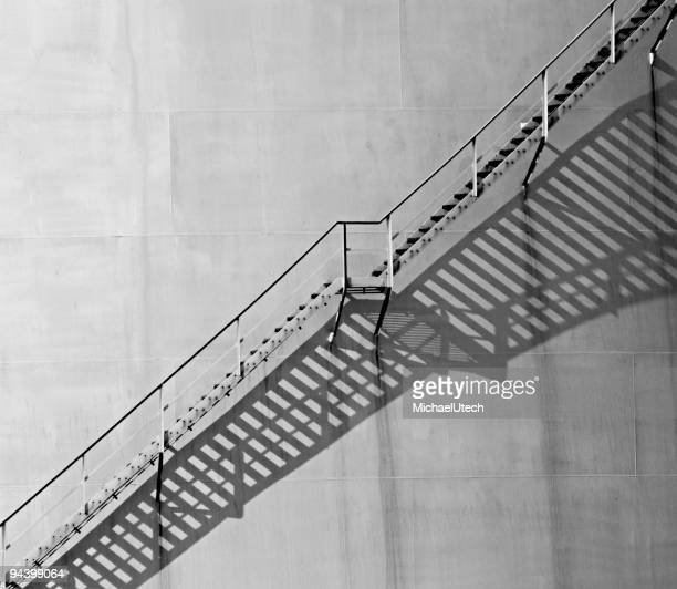 Staircase And Shadows