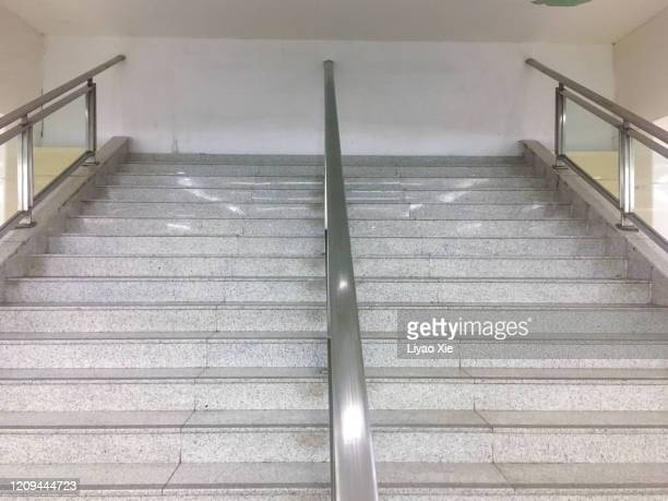 staircase barrier - liyao xie stock pictures, royalty-free photos & images