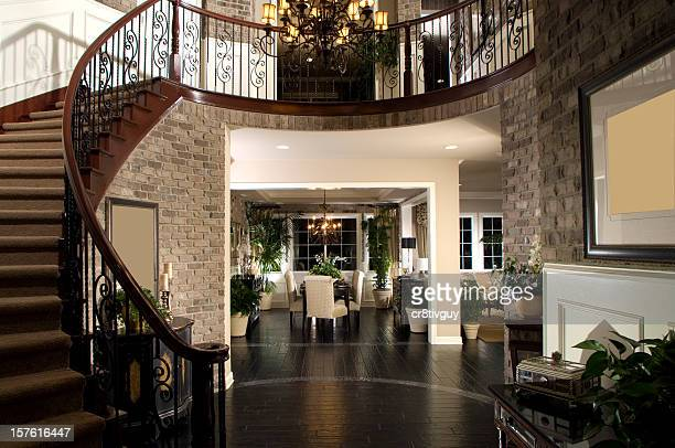 Staircase Dinning Home Interior