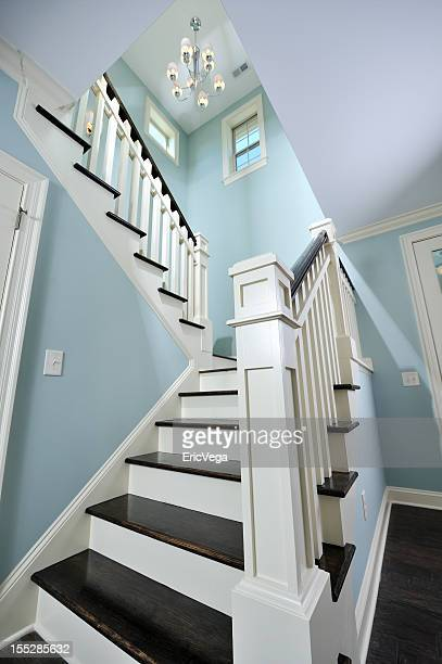Staircase in Beautiful Home Interior