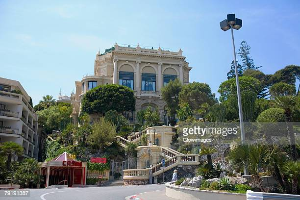 staircase of a building, monte carlo, monaco - モンテカルロ ストックフォトと画像
