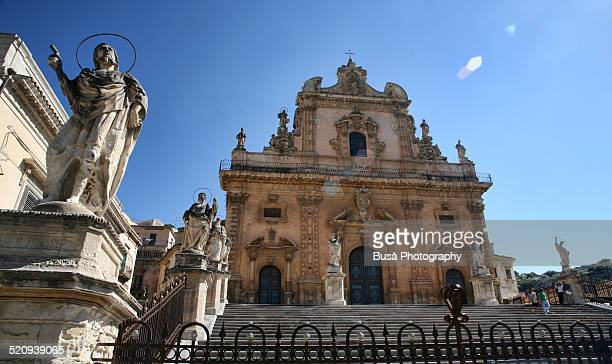 Staircase of Church of San Pietro, Modica, Sicily