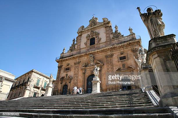 Staircase of Church of San Pietro