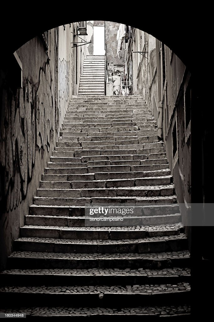 Staircases in Lisbon : Stock Photo