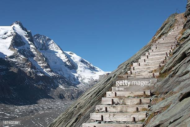 Stairs and Grossglockner