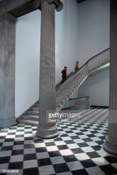 stairs at girard college - girard college stock pictures, royalty-free photos & images