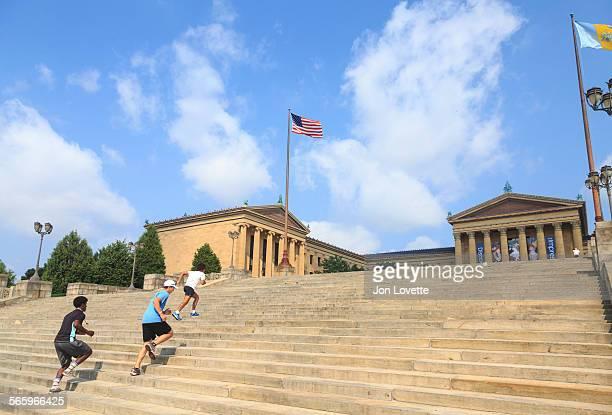 Stairs at Philadelphia Museum of Art