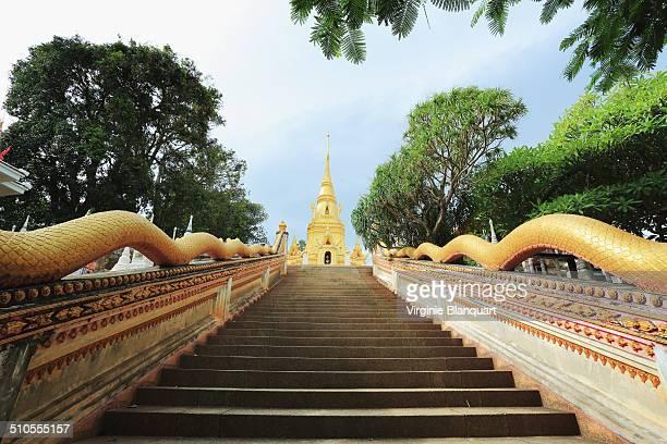 Stairs at Wat Sila Ngu
