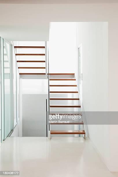 Treppen in einem modernen Haus