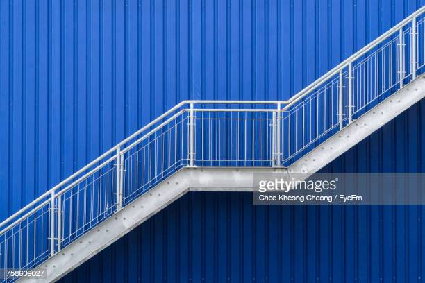 Stairs Of An Industrial Building