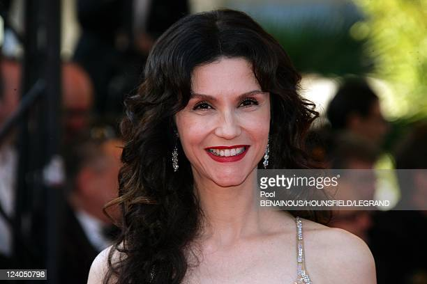Stairs of 'Chacun son cinema' at the 60th Cannes International Festival in Cannes France on May 20 2007 Italian actress Alessandra Martines