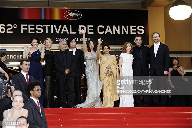 Stairs of the movie Coco Chanel and Igor Stravinsky and Palme d'Or Closing Ceremony at the 62nd Cannes Film Festival In Cannes France On May 24 2009...