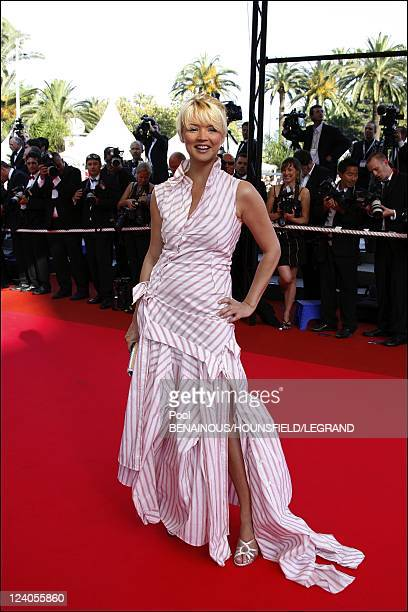 Stairs 'Promise me this' at the 60th Cannes International Film Festival In Cannes France On May 26 2007 Virginie Efira